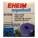 EHEIM esponja filtrante gruesa (2 u) para cajita de media filtrante aquaball 60/130/180